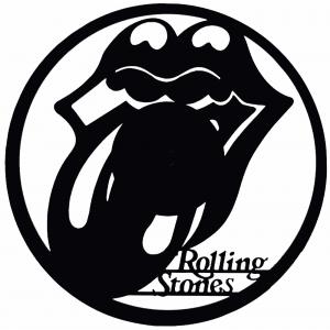 Découpe disque vinyle : Rollins Stones