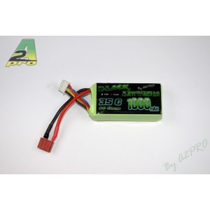 Black Lithium 1000mAh 35C 3S