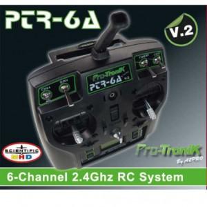 RADIO PTR-6A V2 6 VOIES + ACCU NIMH