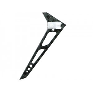 Carbon Fiber Vertical Fin Set - BLADE MCPX/S