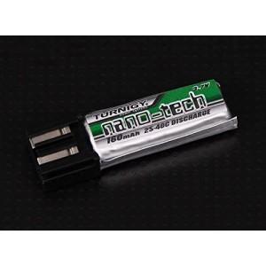 Nano-Tech 160mAh 1S 25-40c LiPo