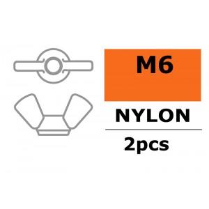 Ecrou Papillon Nylon M6 - GF-0304-003
