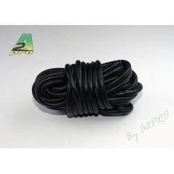 Fil silicone AWG12-3.58² noir (5m)