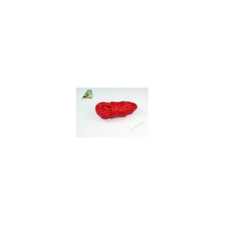 Fil silicone AWG12-3.58² rouge (5m)