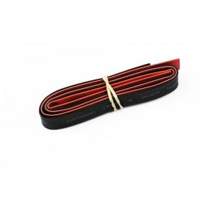 Gaines Thermo diam. 8mm Rouge+Noir 2x50cm de A2PRO